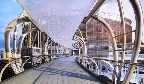 Conceptual design of intermodal transit center planned in Jacksonville