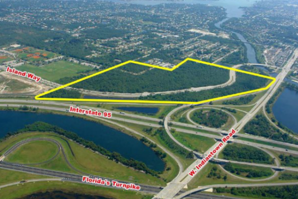 The 58-acre tract in Jupiter that an arm of FLF Management bought