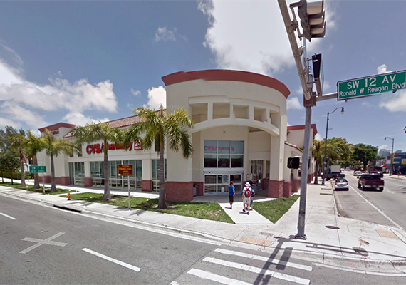 CVS in Miami's Little Havana neighborhood