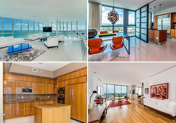 Luxury rentals collage