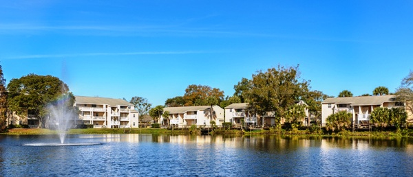 The Mabry Manor apartment complex in Tampa