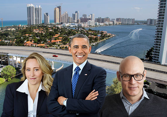 President-Obama-Jackie-Soffer-and-Craig-Robins