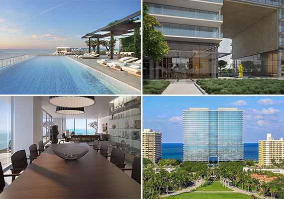 Renderings of Oceana Bal Harbour