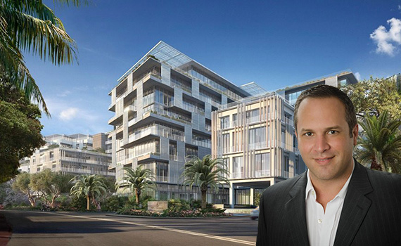 Rendering of the Ritz-Carlton Residences, Miami Beach and Elliman's Philip Gutman
