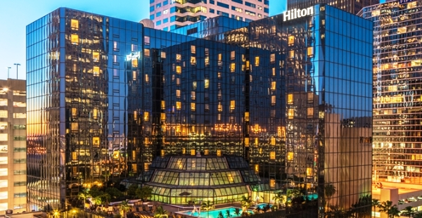The 520-room Hilton Tampa Downtown
