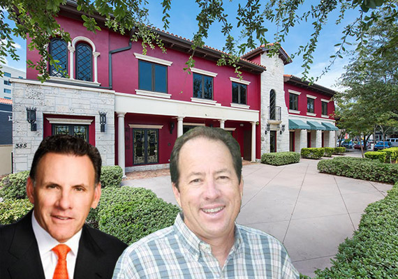 375 Miracle Mile, Jim Ferraro and listing broker Thomas Byrne