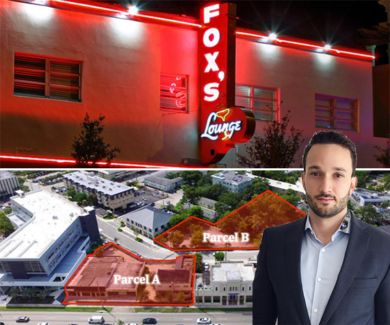 Fox's Plaza and listing agent Marcos Puente