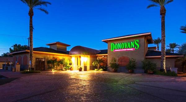 Donovan's Steak & Chop, 3101 East Camelback Road in Phoenix