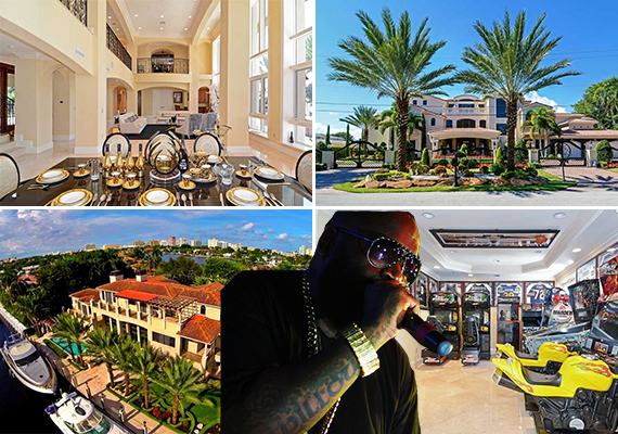 Rick Ross and Fort Lauderdale house