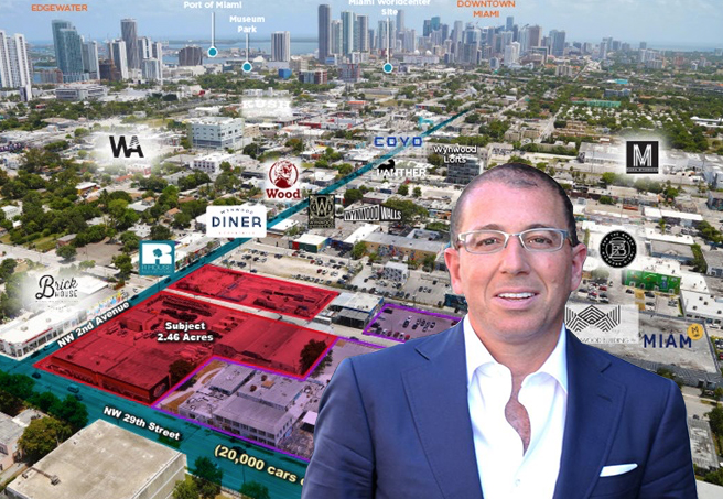 Development site for sale and Joseph Sitt