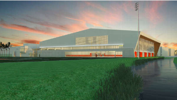 UM indoor football facility rendering (Source: ESPN)