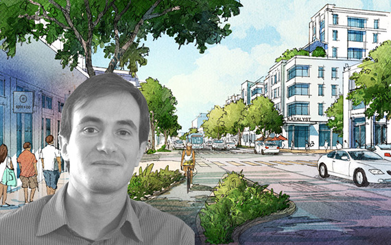 Rendering of North Beach and Jason King of Dover Kohl