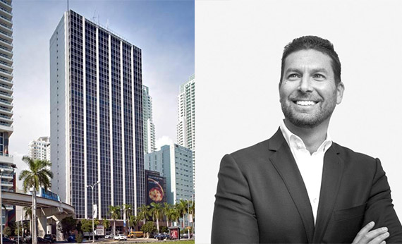 100 Biscayne Boulevard and East End Capital Managing Principal Jonathon Yormak