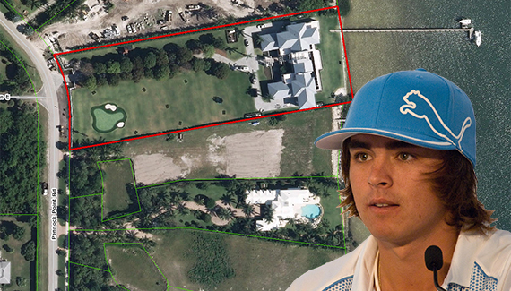 5215 Pennock Point Road and Rickie Fowler
