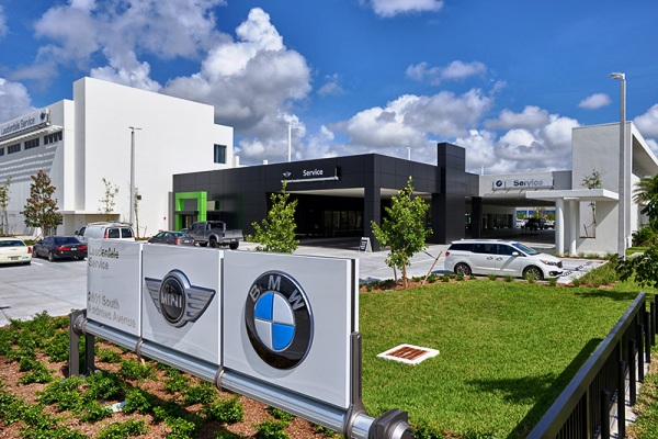 Holman Automotive Group's $15 million service center at 2601 South Andrews Avenue in Fort Lauderdale