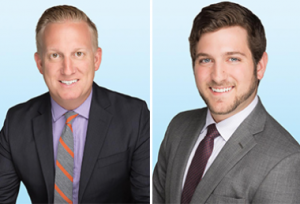 Listing brokers Bradley Arendt and Michael Lewin