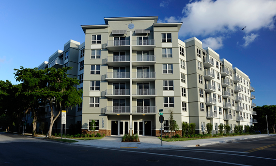 Affordable Housing Miami Courtside Family Apartments