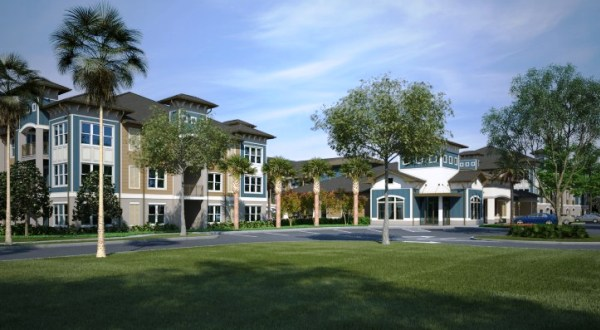The Crest at Millenia apartments (Source: Apartment Guide)