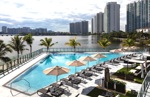 Property Markets Group received a condo inventory loan secured by unsold units at Echo Aventura.