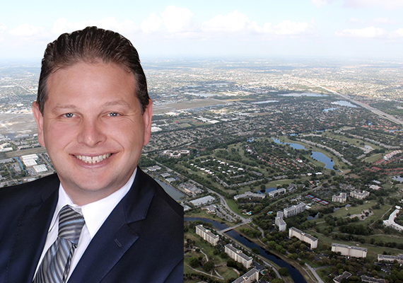Greg Matus and Broward aerial view