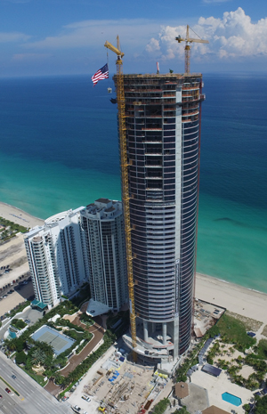 Sales started in 2013 for the 57-story Porsche Design Tower, located in Sunny Isles Beach, and most of the units have closed.