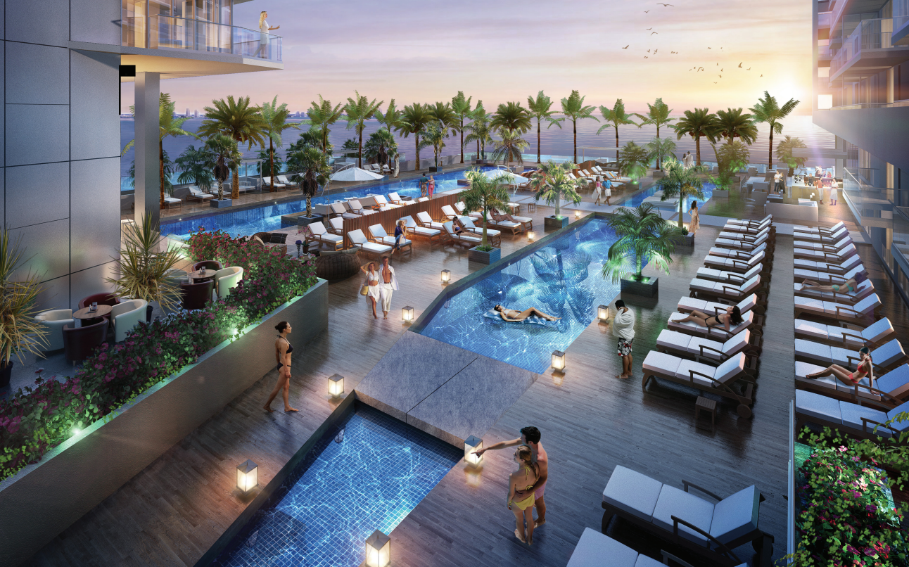 Click To Enlarge Proposed Project S Pool Deck