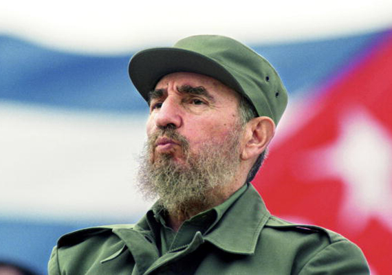 Fidel Castro in 1998 (Credit: Getty Images)