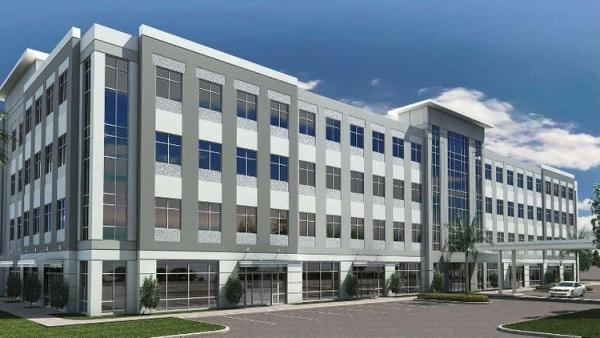Rendering of Kirkman Point II office development in Orlando