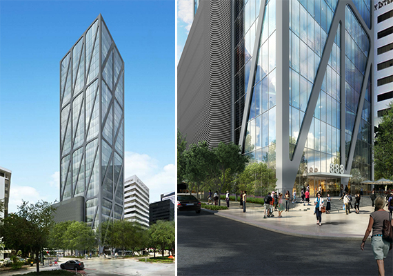 Renderings of 888 Brickell