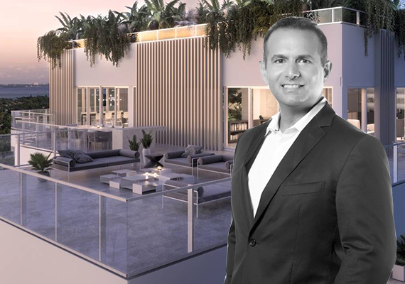 Rendering Of The Penthouse And Lionheart Capital CEO Ophir Sternberg