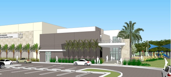 Rendering of new school for The Victory Center in North Miami Beach