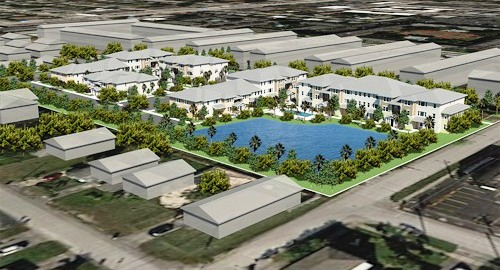 Rendering of Oakland Preserve