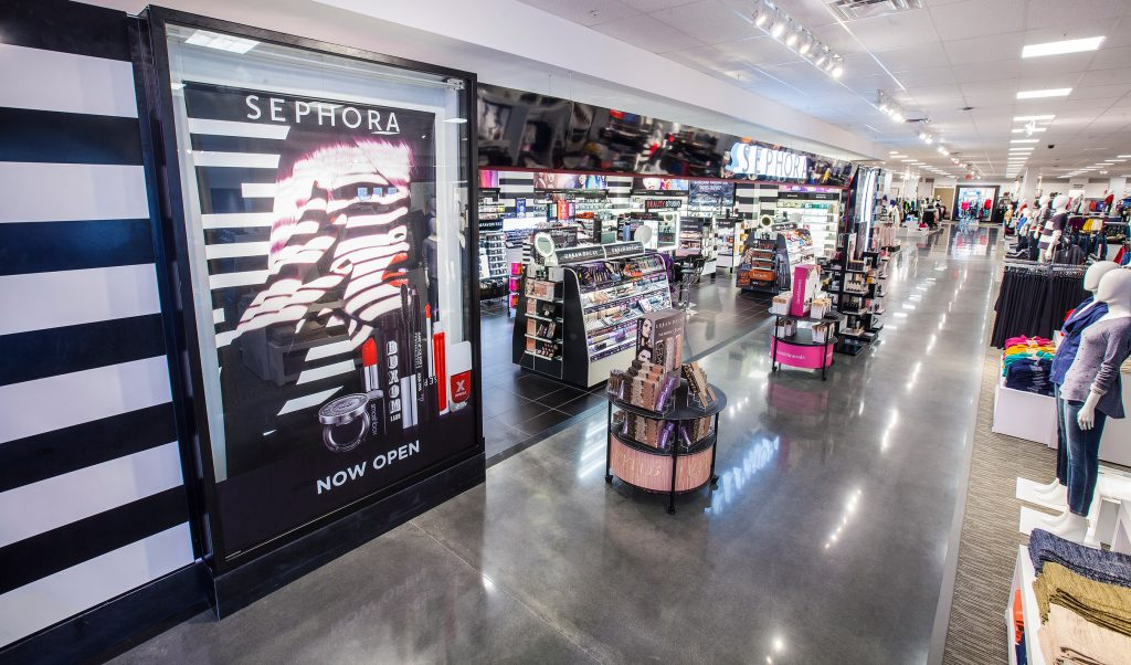 Photo Of Jc Penney S Sephora Boutique In Courtesy Nordstrom