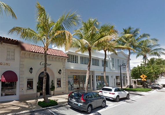 Cartier At  Worth Avenue Cartier Shuttered Its Palm Beach Store