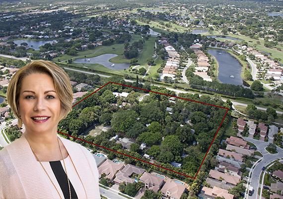 5307 And 5309 Hood Road (Inset: Lynn B. Telling). After Purchasing 7 Acres  Of Land In Palm Beach Gardens ...