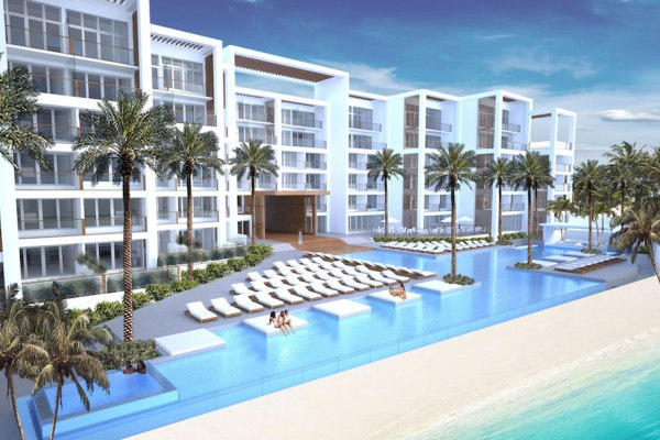 Rendering Of The Spanish Court Hotel Montego Bay