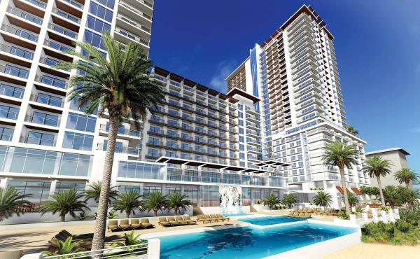 Rendering Of Daytona Beach Convention Hotel Iniums