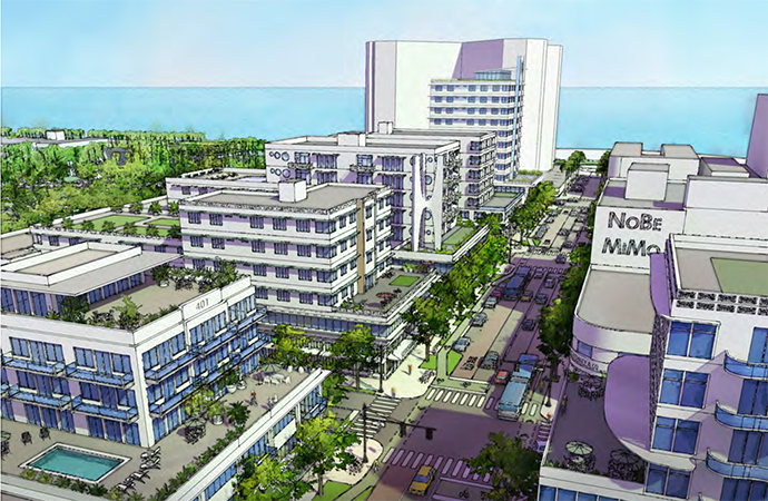 Miami Beach Voters To Decide On Density And Height Increases For Proposed North Town Center