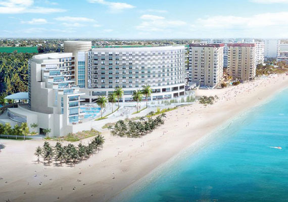 Rendering Of The Rebuilt Sandcastle Resort Sarasota S Property In Lido Beach