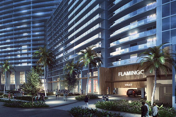 Rendering Of Flamingo South Beach Renovations
