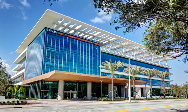 eco friendly corporate office interior the recently completed 155 million lennar foundation medical center in coral gables eco friendly developers green building miami