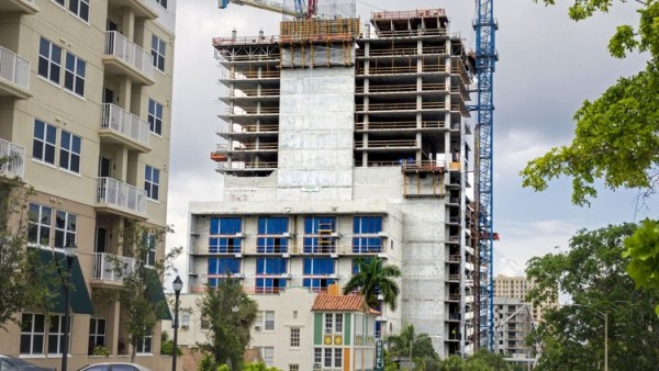 The Park Line Beaches Construction Site In Downtown West Palm Beach Credit Post