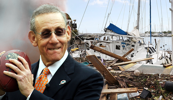 Dolphins owner pledges $1 million for hurricane relief