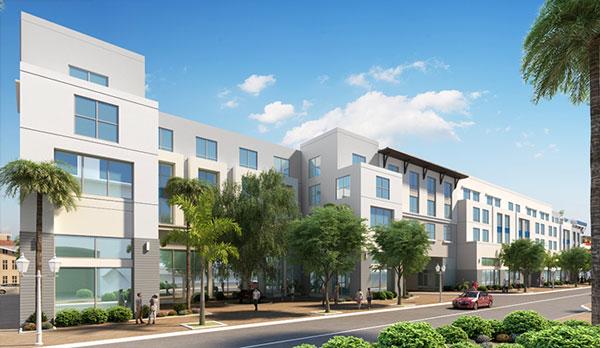 Rendering Of Kolter Group S Hotel In Delray Beach Credit