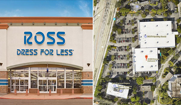 5c068e741fac Ross store and 18495 Biscayne Boulevard (Credit: Ross Stores, Google Maps)