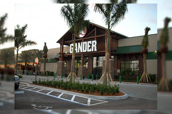 Gander Mountain At 100 Gander Way (Credit: Oppidan). A Recently Shuttered  Gander Mountain Retail Store In Palm Beach Gardens ...