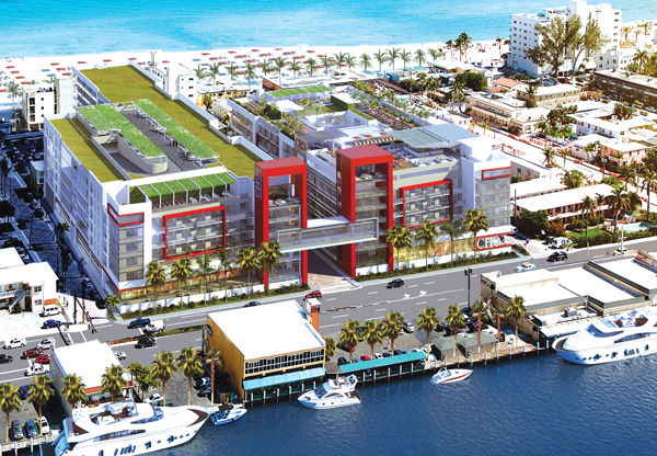 The 307 Unit Costa Hollywood Beach Resort Is Set To Open This Spring.