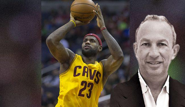 cheap for discount 08b26 ebe23 Lebron James and David Edelstein (Credit  Wikimedia Commons)