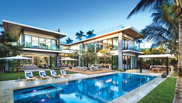 Brett Palosu0027 13,000 Square Foot Waterfront Spec Mansion On Miami Beachu0027s  Sunset Island II Has Been On The Market For More Than Six Months, Priced At  $26 ...