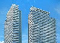 Construction finished on 1 of 2 towers at The Harbour in North Miami Beach